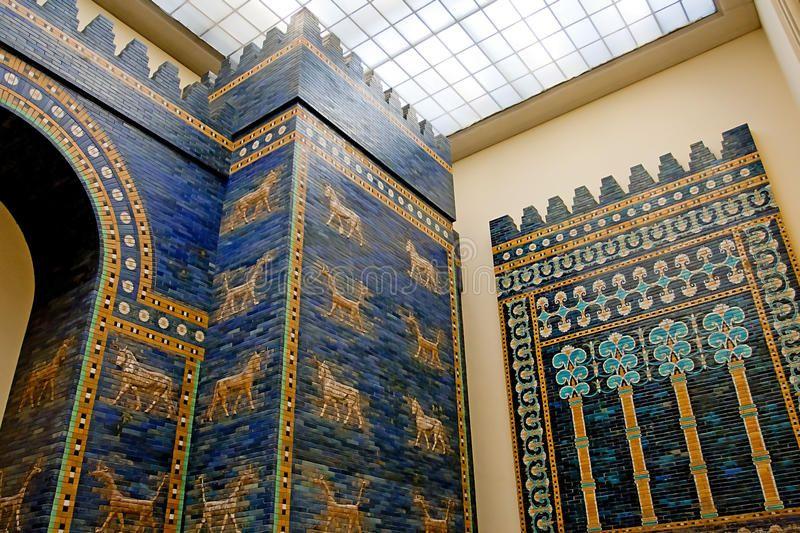 Ishtar Gate Detail Of Babylonian Sity Wall In Pergamon Museum Berlin Germany Sponsored Babylonian Sit Pergamon Museum Pergamon Museum Berlin Pergamon
