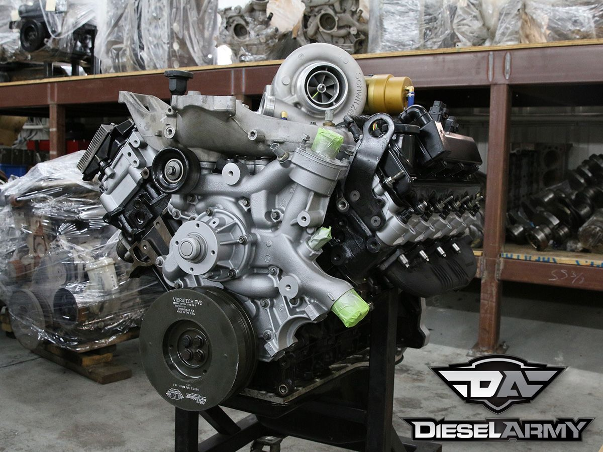 6 0 Liter Power Stroke Engine Build Powerstroke Ford Excursion Ford Powerstroke