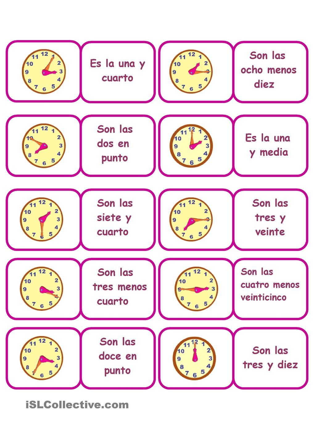 Quiz & Worksheet - Talking About Time in Spanish | Study.com