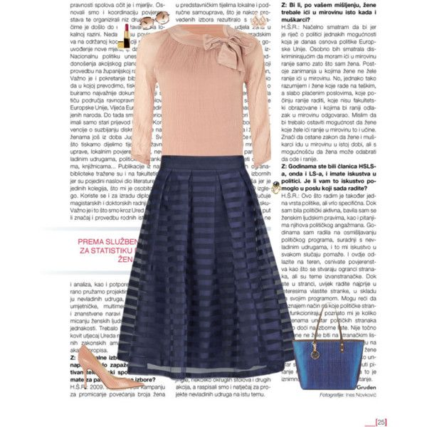 A fashion look from February 2015 featuring La Fée Maraboutée blouses, Girls On Film skirts and Jimmy Choo pumps. Browse and shop related looks.