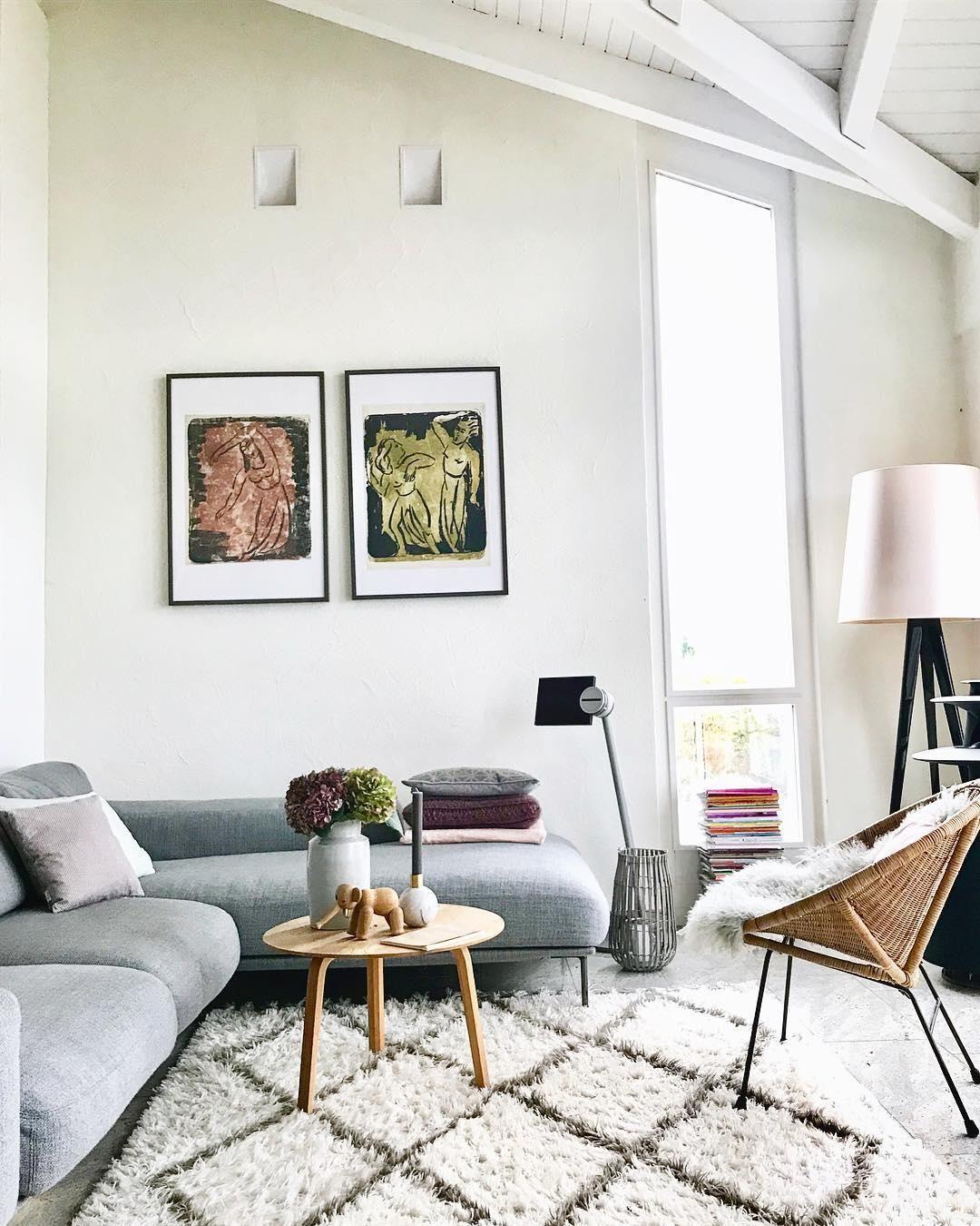 Handgetufteter Teppich Naima | Teppich wohnzimmer, Einrichtungsstile ...