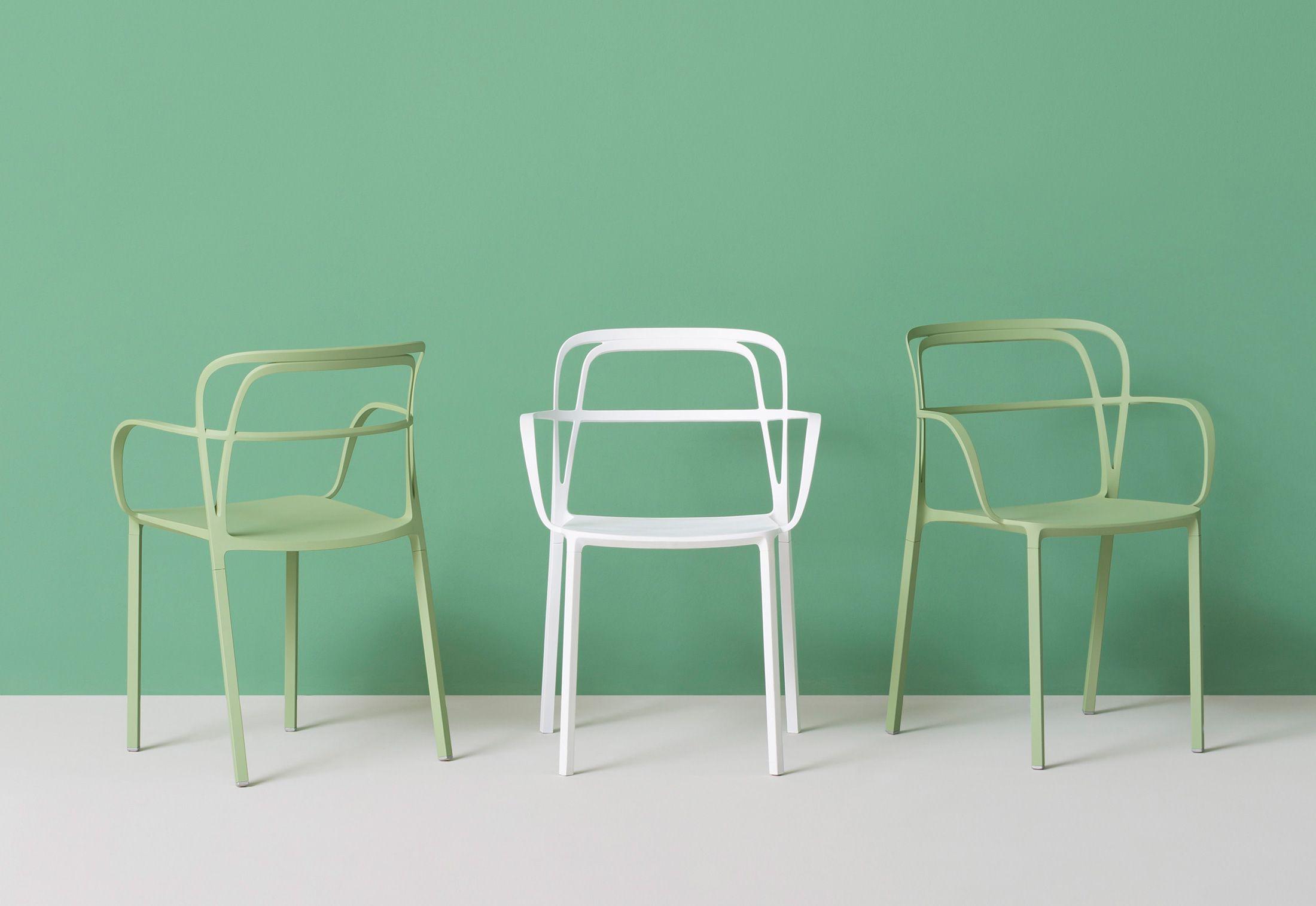 Sedie Colorate Da Giardino.Intrigo Armchair By Archivolto Design For Pedrali