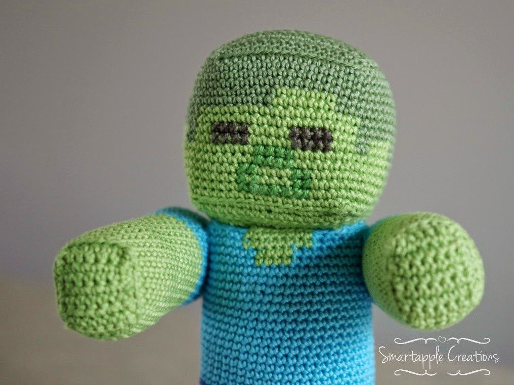 Smartapple Creations - amigurumi and crochet: Minecraft Steve vs ...