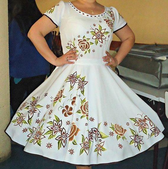 imagenes de vestidos de huasa tradicionales | vestido de cueca ...