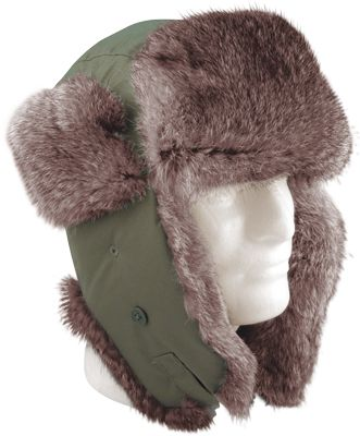 c15ed442850 Fur Hat in Olive Drab. Get it at - http   www.