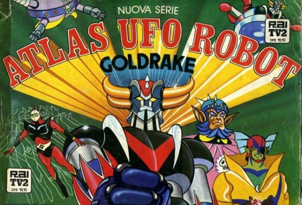 Atlas ufo robot cartoni anni  80 cartoni animati ufo e