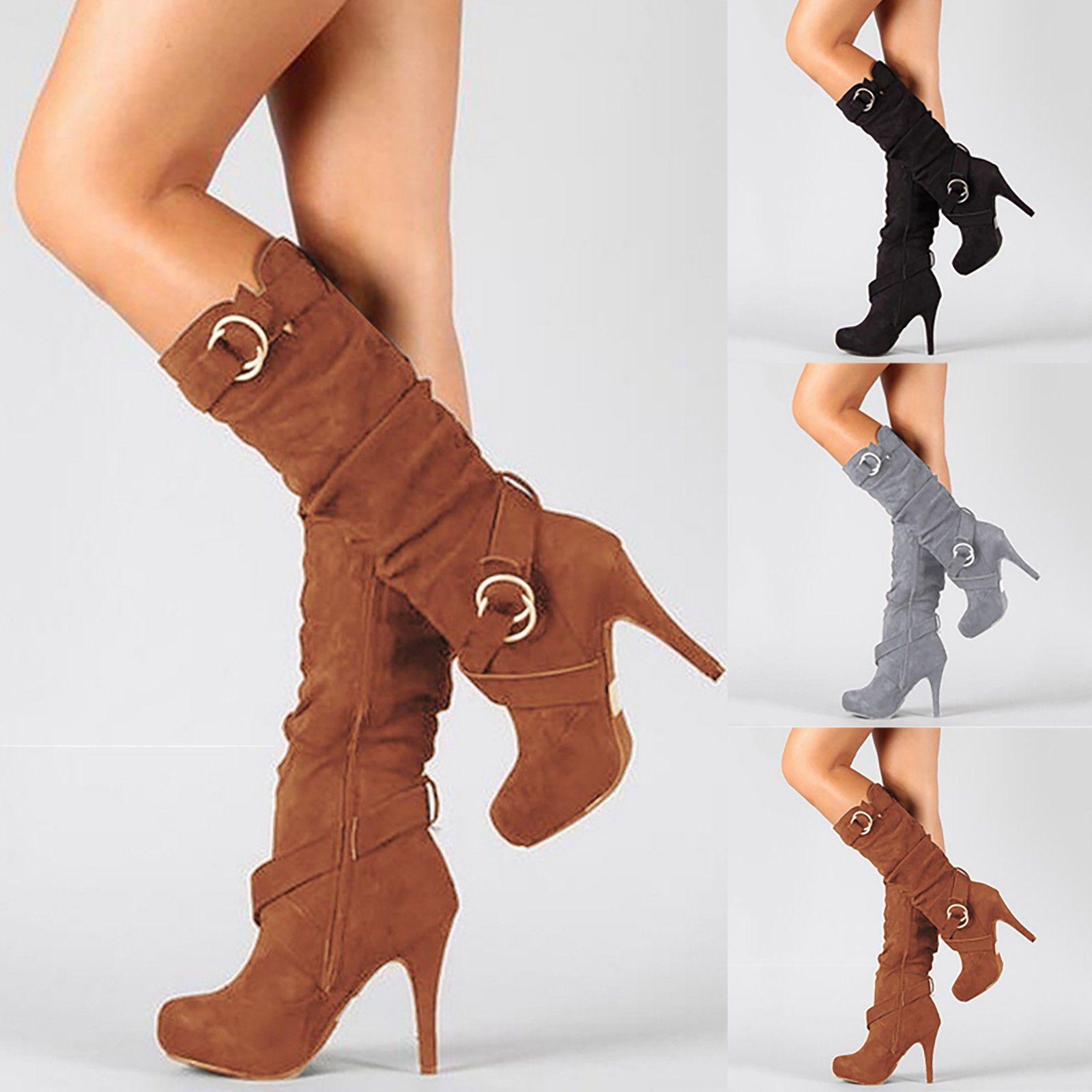 3 inch heel Zipper closure boots in