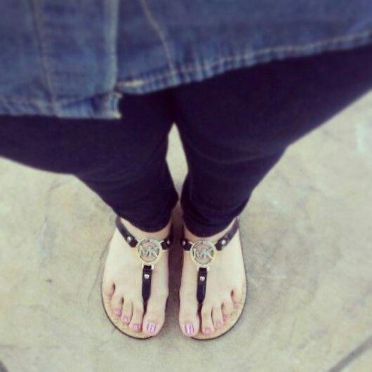 My MK sandals<3