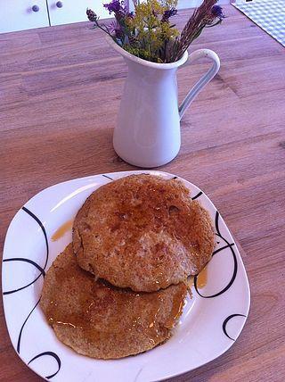 Apfelpfannkuchen für Schleckermäulchen