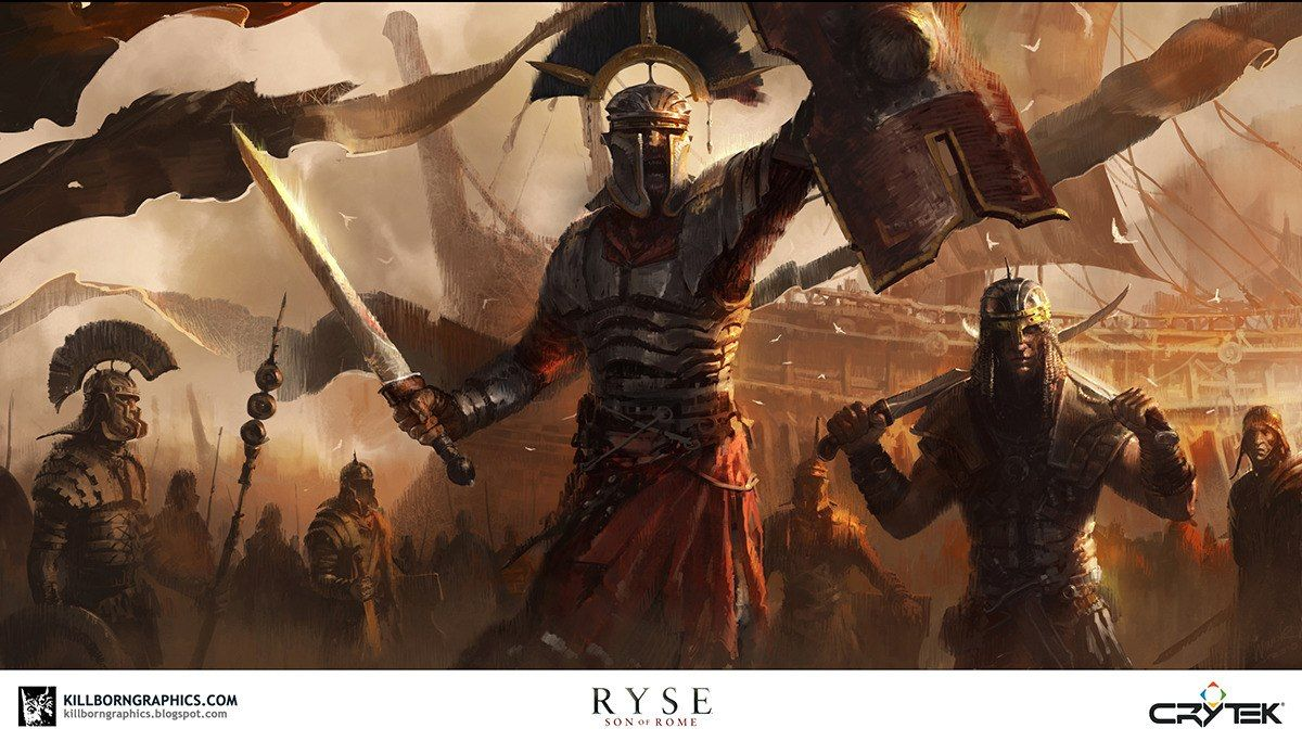 Concept Art: Ryse - Son of Rome