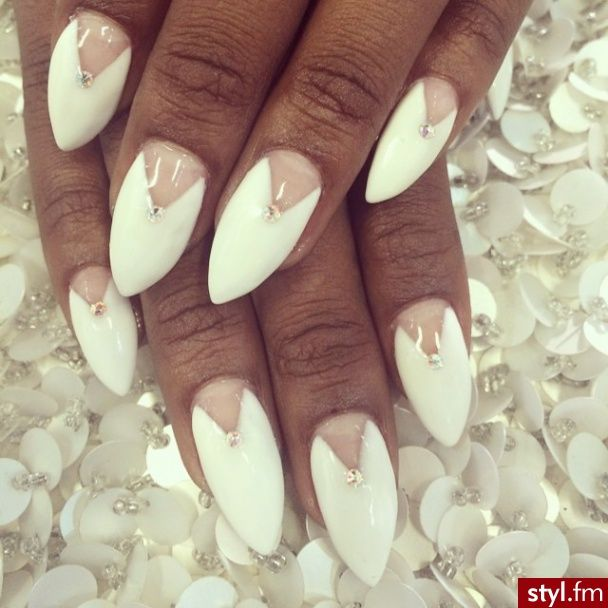 French manicure with a difference