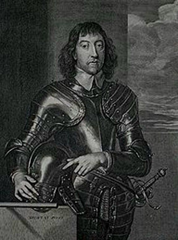 Henry Howard (1608-1652)  Baron Mowbray and Earl of Arundel.   Educated at St John's College. Supported the King.