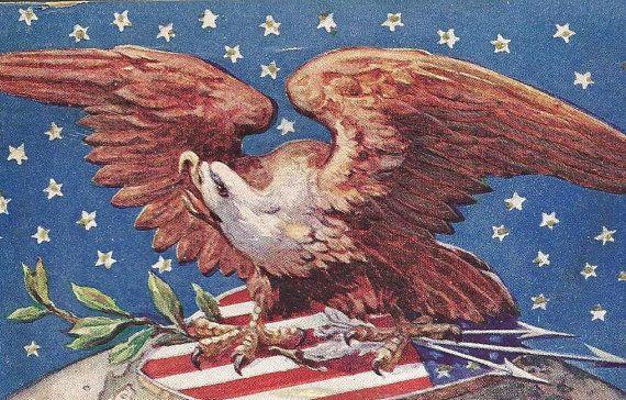 American Eagle Stars and Stripes Patriotic by TheOldBarnDoor