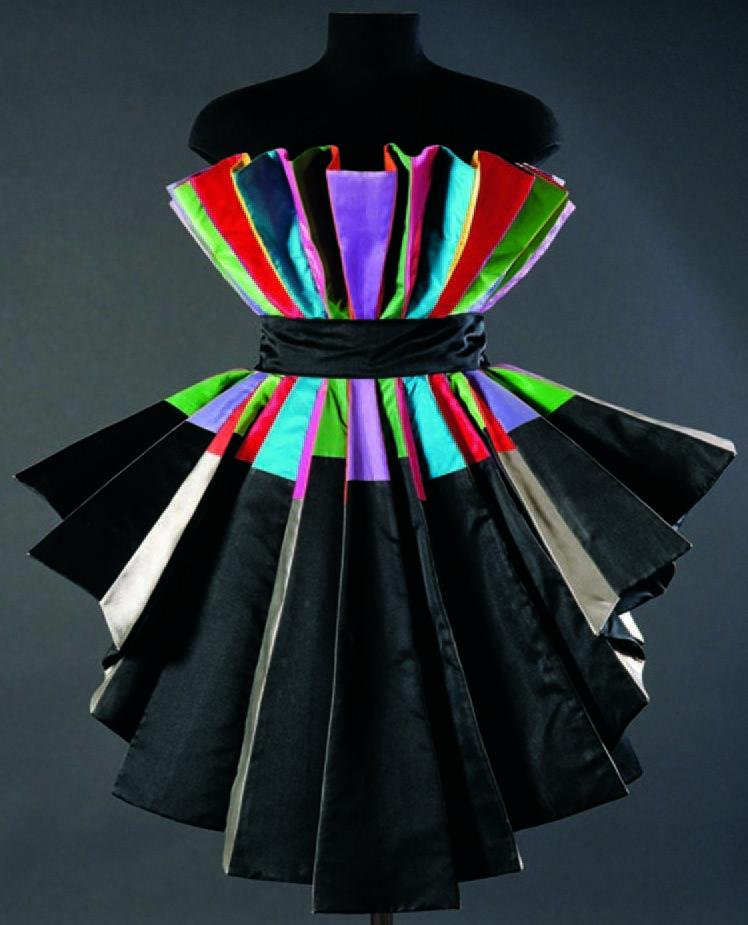 Roberto Capucci - Haute Couture - Robe de Soirée 'Sculpture' - Art Déco