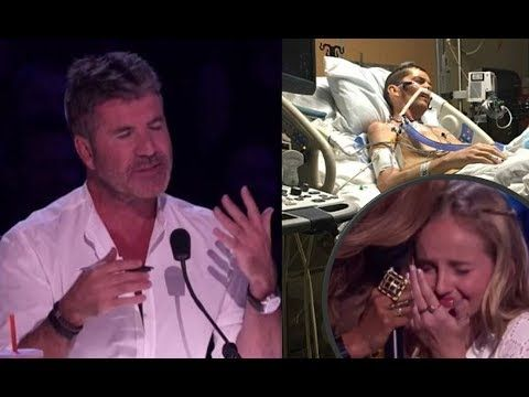 Evie Clair Simon Cowell Chokes Up While Her Sick Dad Watches Her