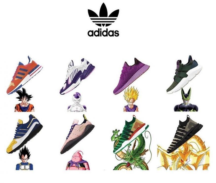 manguera emocional Seminario  Adidas Originals lanza zapatillas de Dragon Ball Z - Geek&Chic | Dragon ball,  Zapatillas outlet de nike, Zapatos nike originales