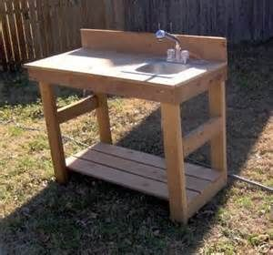 Outdoor Fish Cleaning Table