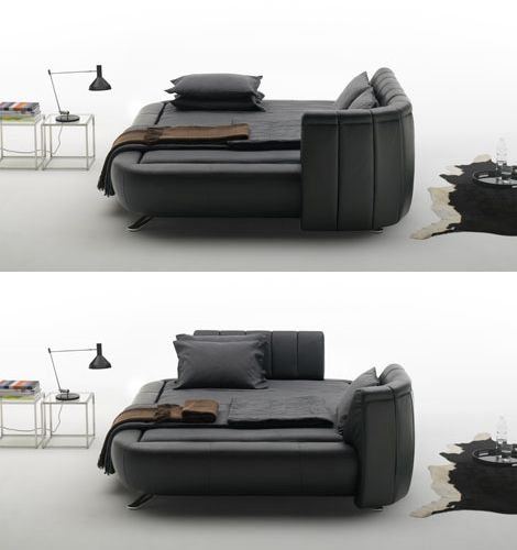 With The New U0026 Modern Leather Beds, De Sede Takes Headboard Design Ideas To  The Next Level. Introducing Movable Headboards That Can Be