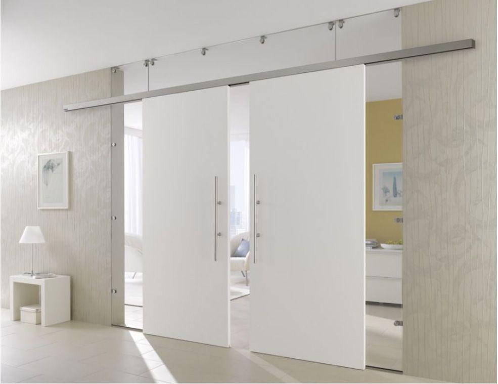 double sliding wood doors