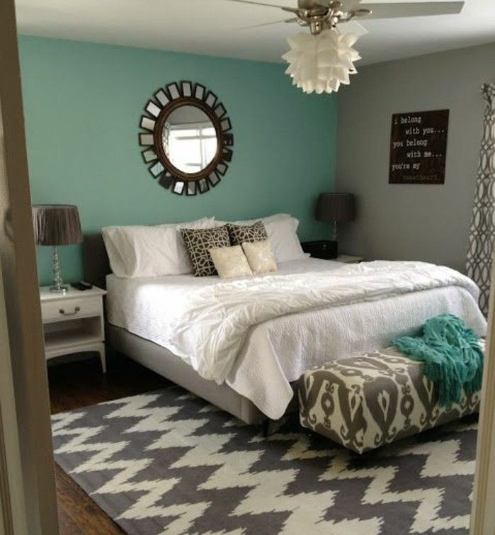 1001 id es pour une chambre bleu canard p trole et paon sublime chambre pinterest. Black Bedroom Furniture Sets. Home Design Ideas