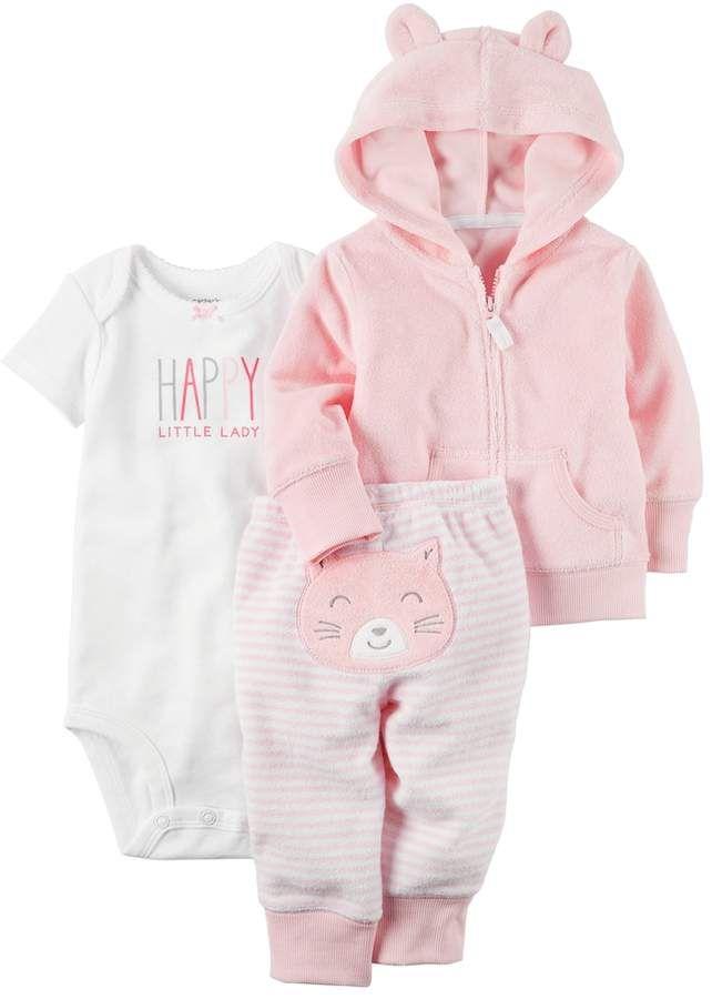 43db20806 Carter s Baby Girl Happy Little Lady Bodysuit