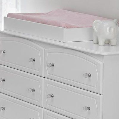 Little Seeds Topper Changing Tray Finish: White