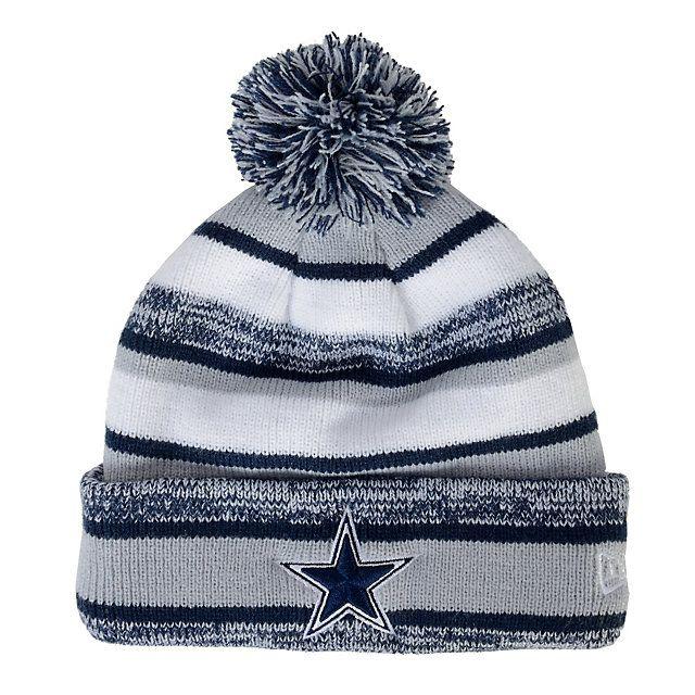 BLACK NFL New Era Cincinnati Bengals On Field Sport Knit Hat ...