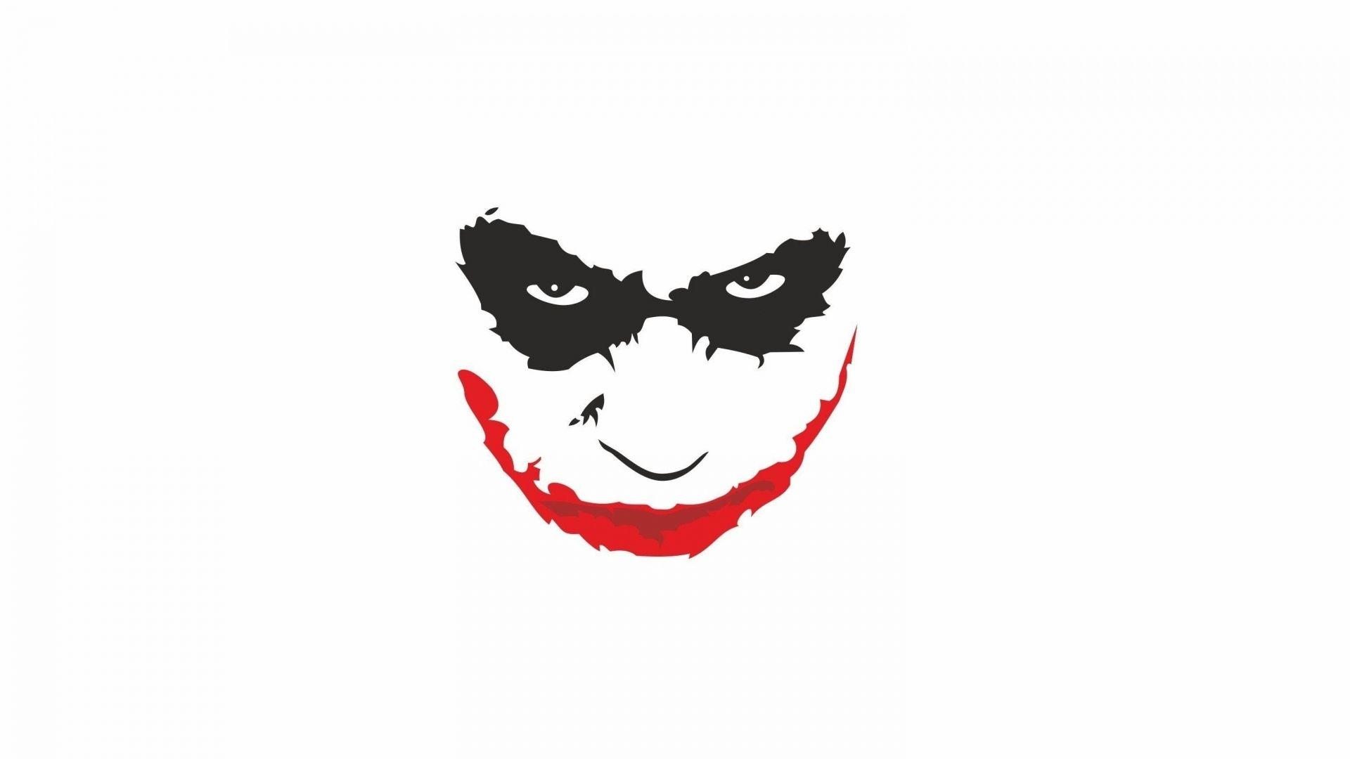 Download Wallpaper 1920x1080 Heath Ledger Smiling White Background Joker Full Hd 1080p Hd Background Joker Hd Wallpaper Joker Tattoo Design Joker Painting