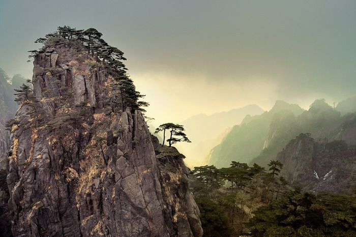 Keltainen vuori, Kiina