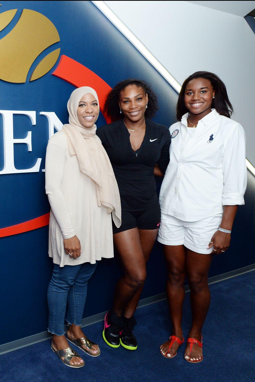 Serena Williams hung out with Ibtihaj Muhammad and Simone