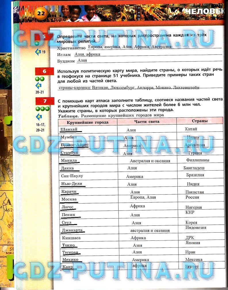Решебник по русскому языку 4 класс рамзаева 1 часть гдз бесплатно