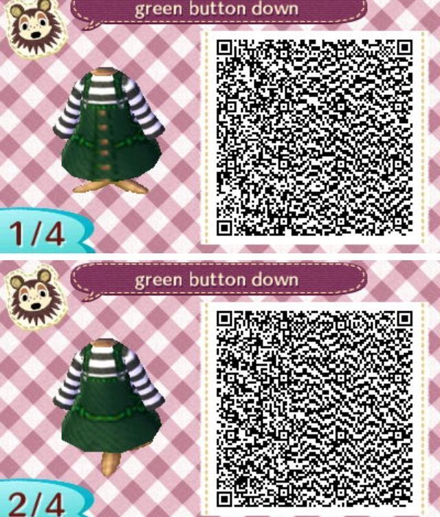 Green button 1 Animal crossing 3ds, Animal crossing