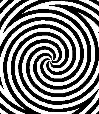 Hallucinant cette illusion d 39 optique art abstrait pinterest illusion optique et art optique - Mini coloriage illusion d optique ...
