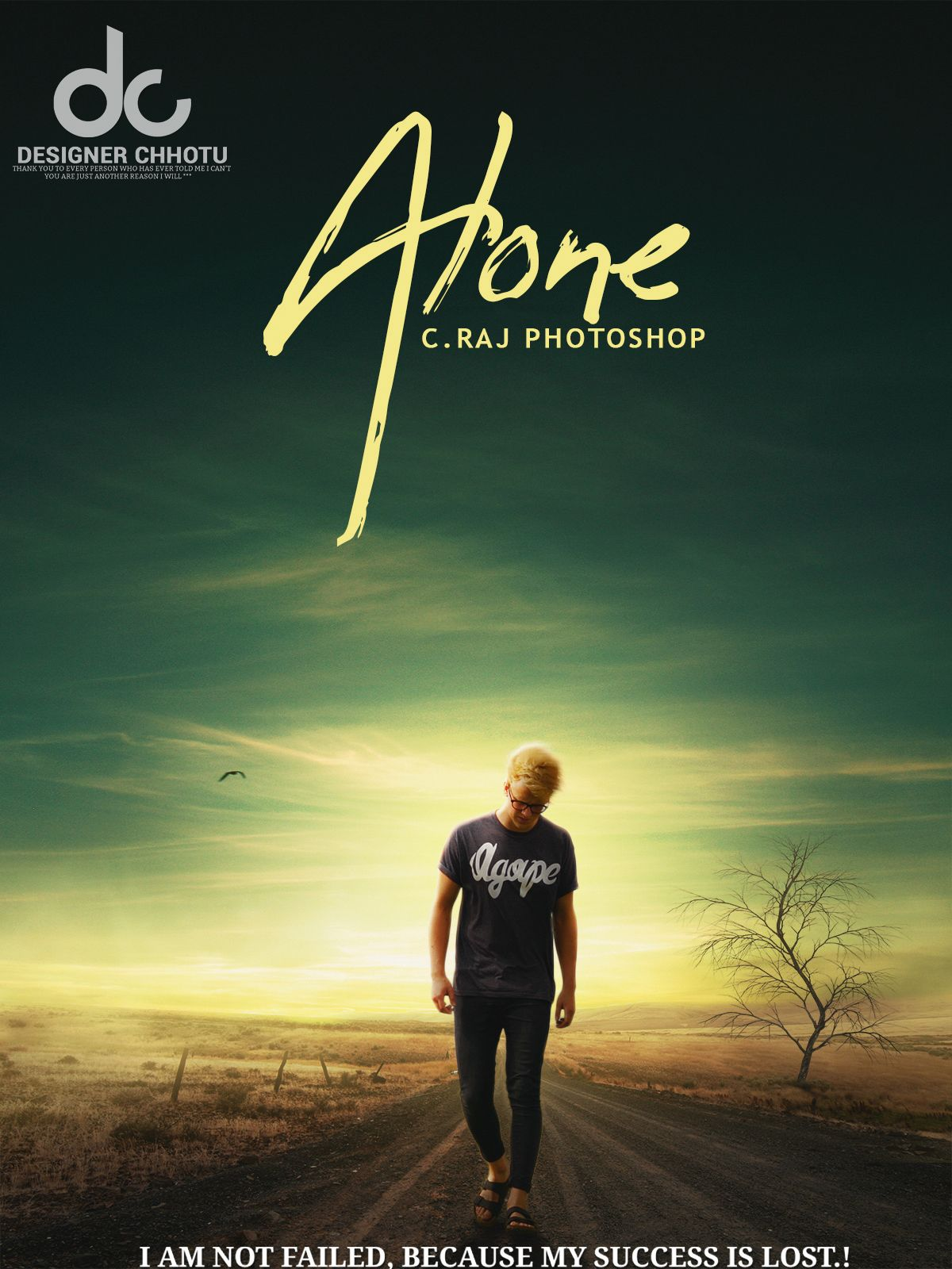 Alone boy dp