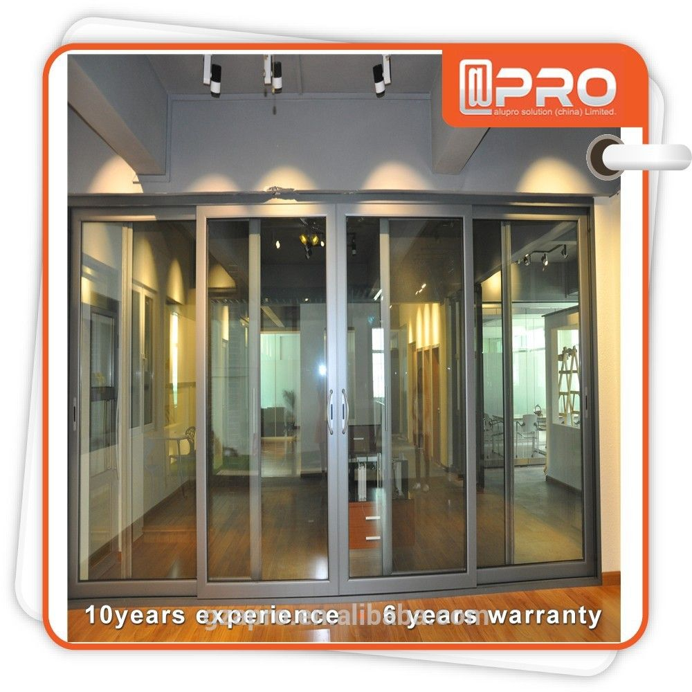 glass sliding door system automatic glass sliding door made in china