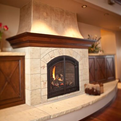 Living Room Fireplaces Design, Pictures, Remodel, Decor and Ideas - page 9