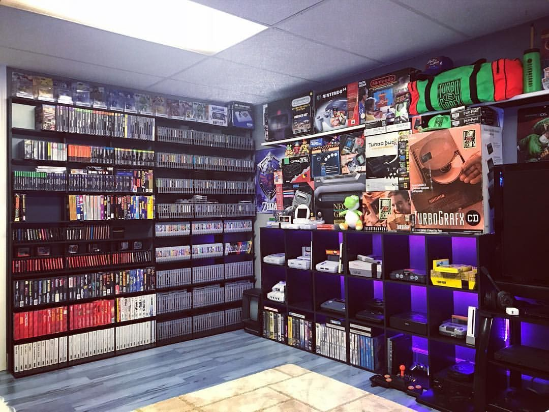 Turn your basement into the perfect Man Cave Retro games