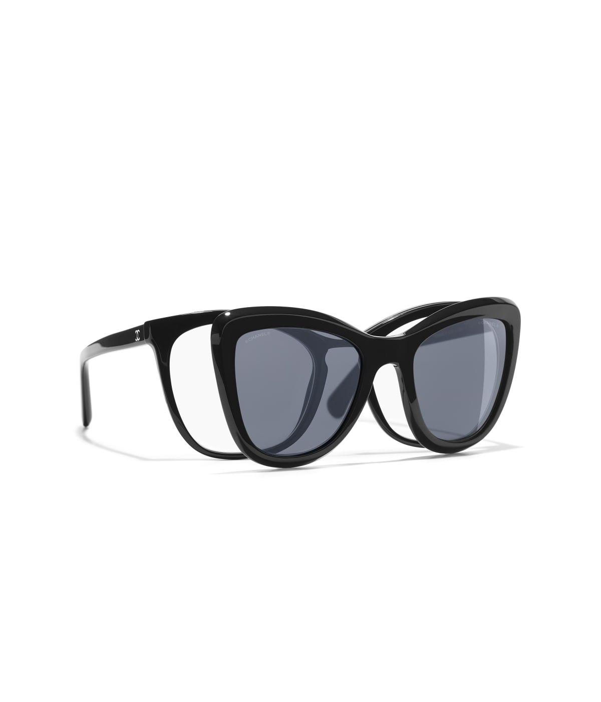 Las gafas de sol CHANEL   Gafas clip on 50ed86a7d04d
