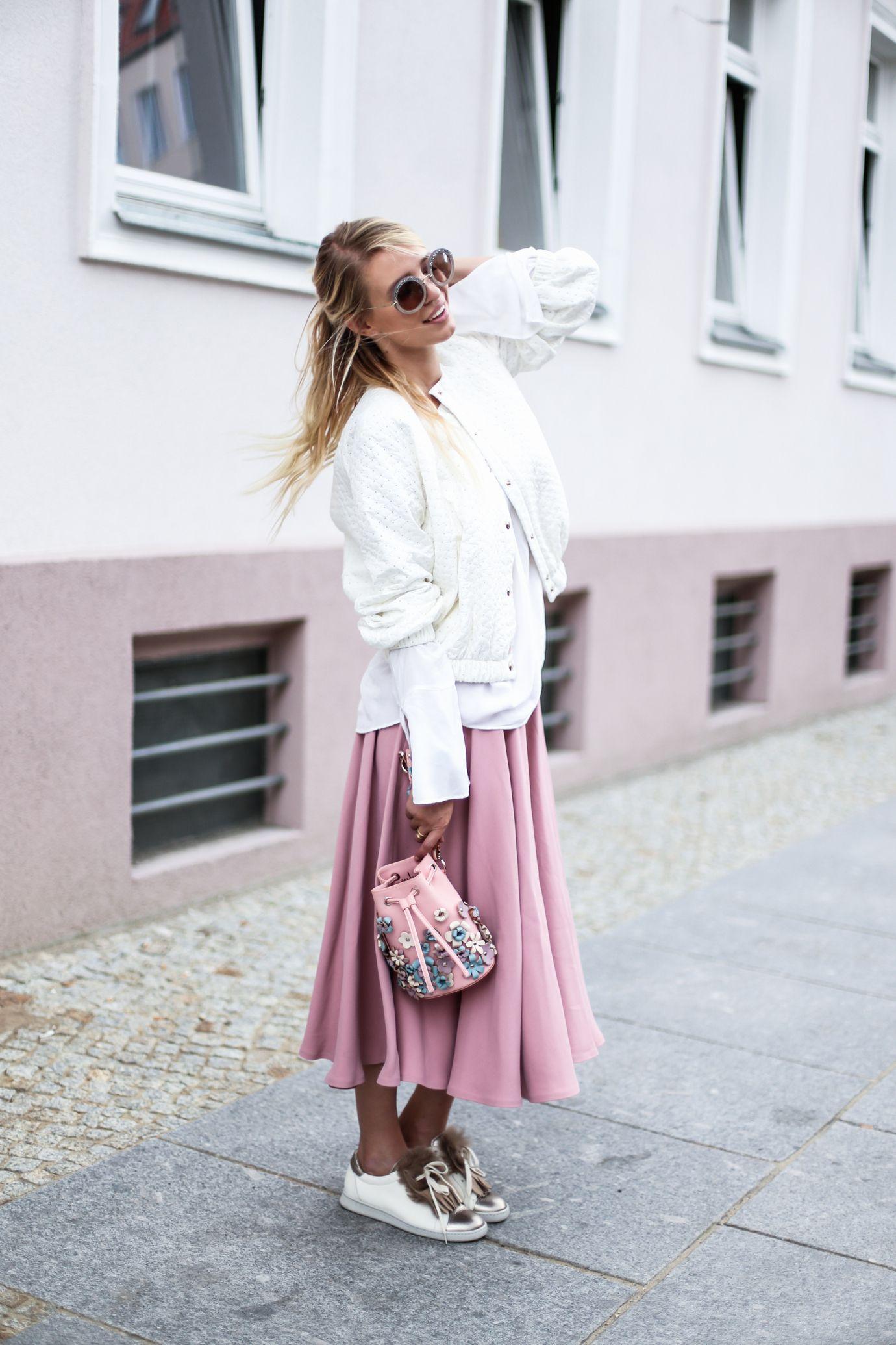 rosa e branco