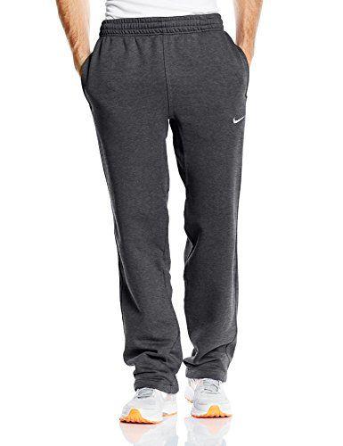 fe2895fbcbe7 Nike Club Swoosh Men s Fleece Sweatpants Pants Classic Fit