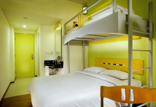 2 A Room With Bunk Bed At Ibis Budget Hotel Cikini Photo Courtesy