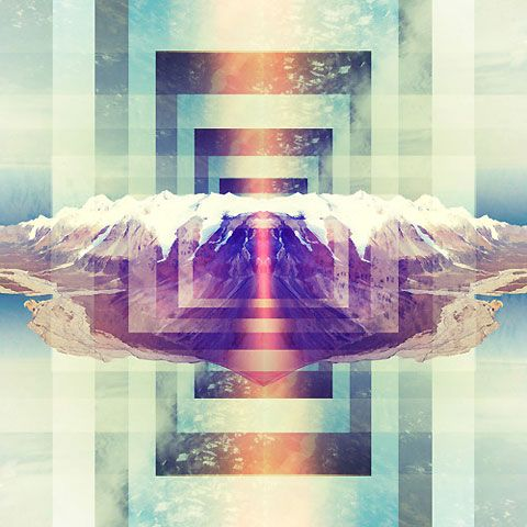 Brock Lefferts' daily psychedelic graphic design print ...