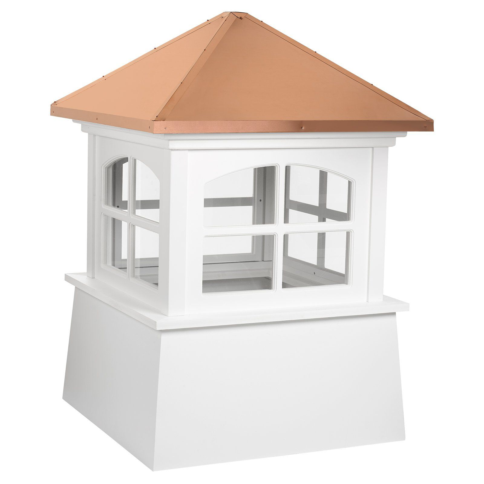 Good Directions Huntington Vinyl Cupola In 2019 Copper Roof Roof Decoration Large Homes