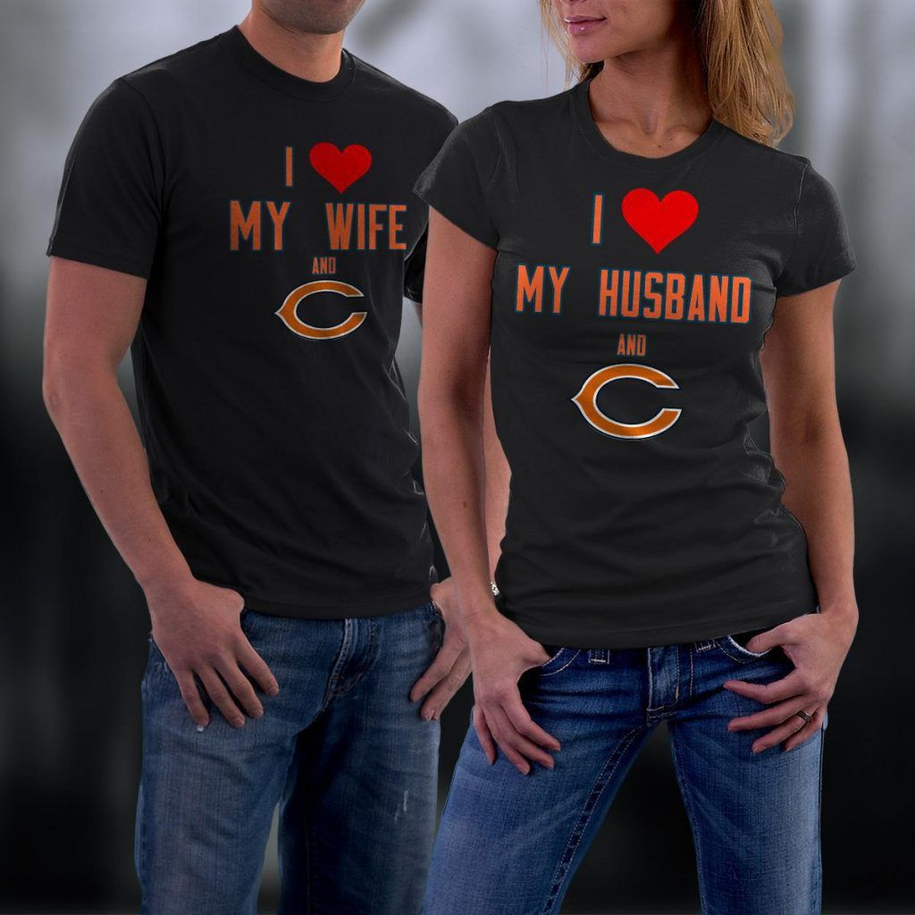 533fcd42 Chicago Bears Couples Shirt, Bears Couples T shirt | Couples ...