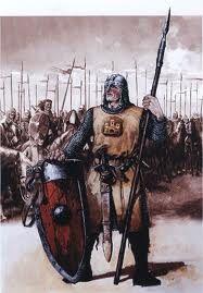 Adornos, armas, caballo, esclavos, esposa, todo esto era necesario al guerrero en vida. Misiego, Micaela, Los orígenes de la civilización anglosajona, Ariel, p.41