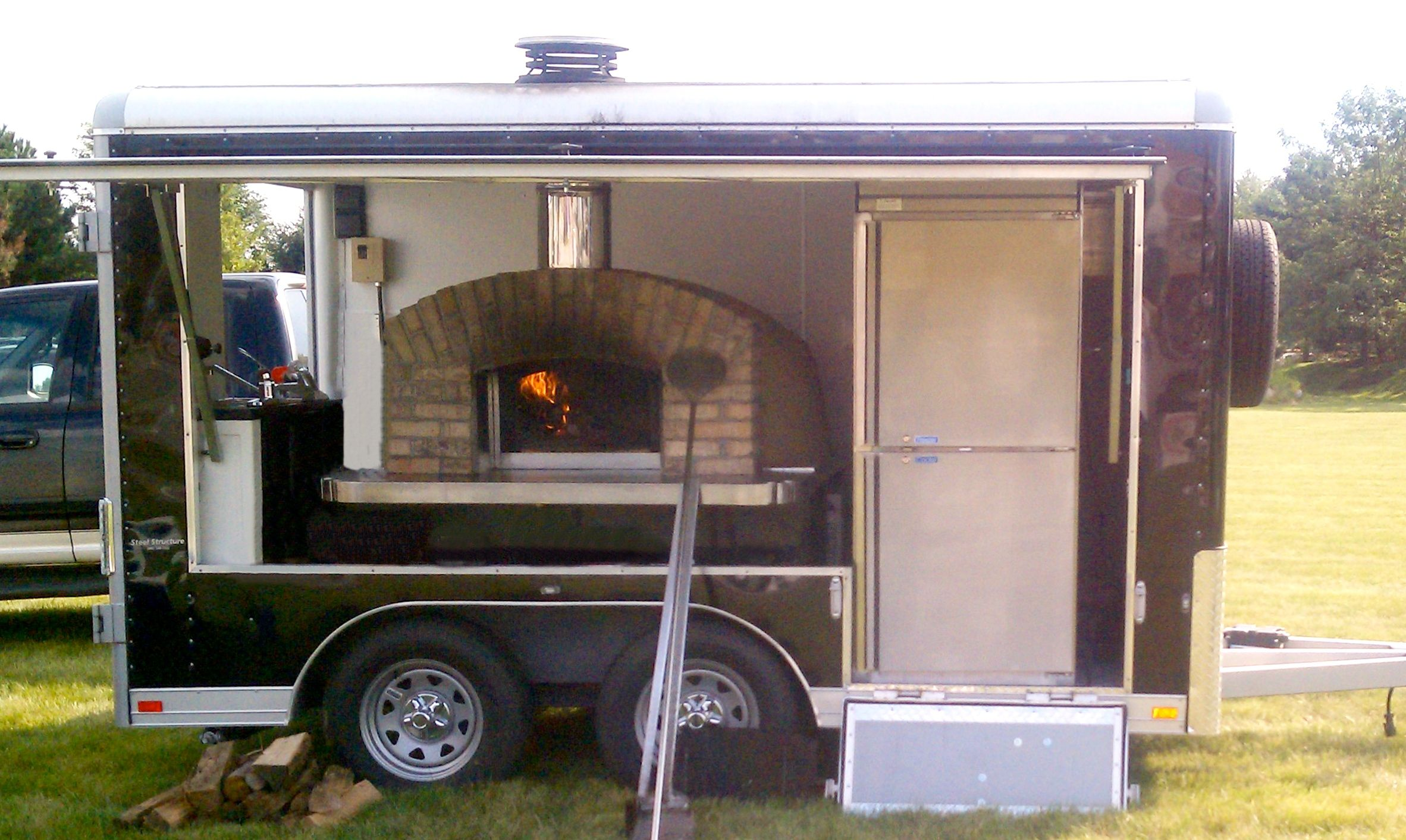 Portable wood fired pizza oven for sale - Pizza Trailer Cucina 12 Jpg 2364 1413 Mobile Pizza Ovenoutdoor