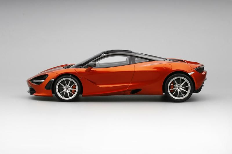 Mclaren 720s Azores Orange 1 18 Scale Model Car By Topspeed Profile Car Model Scale Models Cars Scale Models