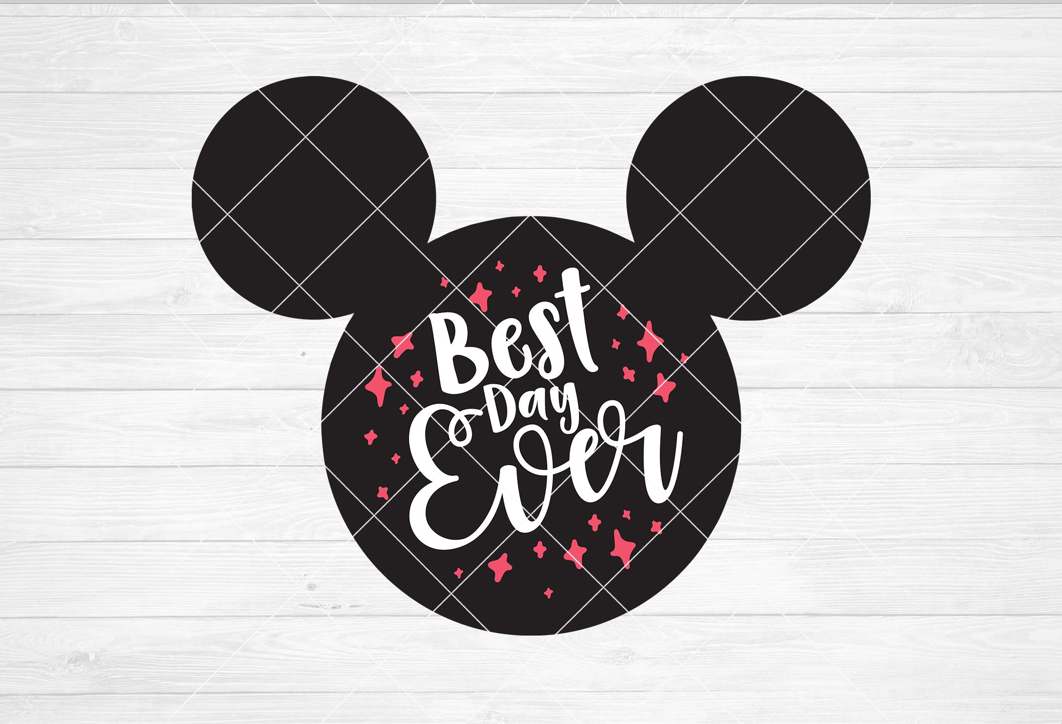 BEST DAY EVER Mickey Mouse svg/dxf/png file Instant