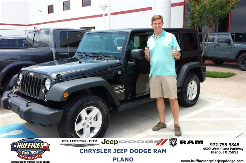 Congratulations to Charles Sulak on your #Jeep #Wrangler Unlimited purchase from Ruben Perez at Huffines Chrysler Jeep Dodge RAM Plano! #NewCar