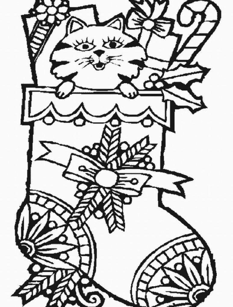 christmas coloring pages free to print Free christmas